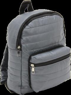 Cambridge Polo Club, Mini Parachute Backpack, Gray-2