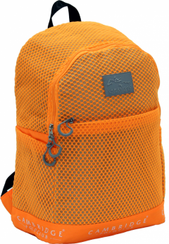 Cambridge Polo Club Plcan1655, File Backpack, Orange-0