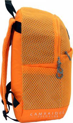 Cambridge Polo Club Plcan1655, File Backpack, Orange-1