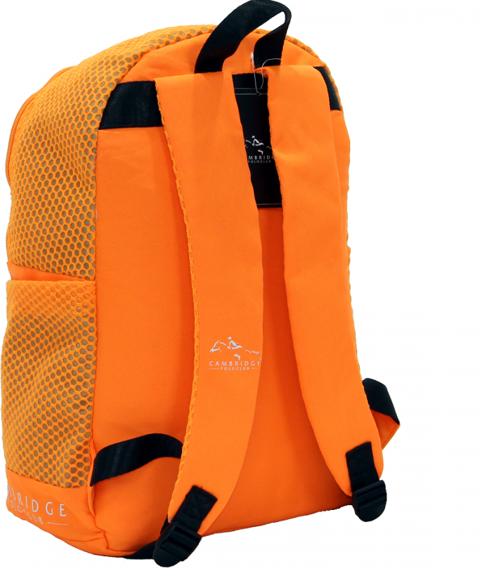 Cambridge Polo Club Plcan1655, File Backpack, Orange