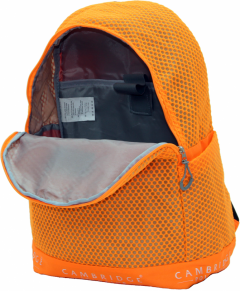 Cambridge Polo Club Plcan1655, File Backpack, Orange-3