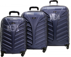 Cambridge Polo Club Plbvl30006, 3-way Suitcase, Navy Blue-0