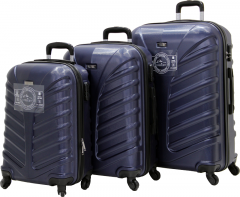 Cambridge Polo Club Plbvl30006, 3-way Suitcase, Navy Blue-1