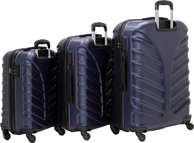 Cambridge Polo Club Plbvl30006, 3-way Suitcase, Navy Blue