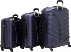 Cambridge Polo Club Plbvl30006, 3-way Suitcase, Navy Blue-2