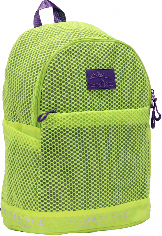 Cambridge Polo Club Plcan1655, File Backpack, Yellow