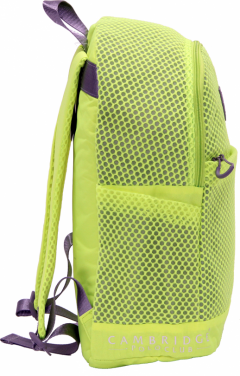 Cambridge Polo Club Plcan1655, File Backpack, Yellow-1