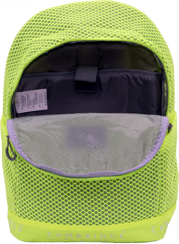 Cambridge Polo Club Plcan1655, File Backpack, Yellow