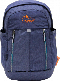 Cambridge Polo Club Plcan1669, Soft Backpack, Navy Blue