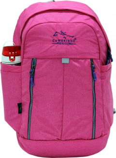 Cambridge Polo Club Plcan1669, Soft Backpack, Pink-0