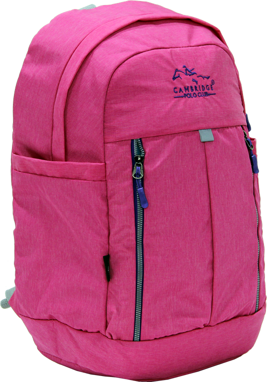 Cambridge Polo Club Plcan1669, Soft Backpack, Pink
