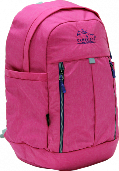 Cambridge Polo Club Plcan1669, Soft Backpack, Pink-2