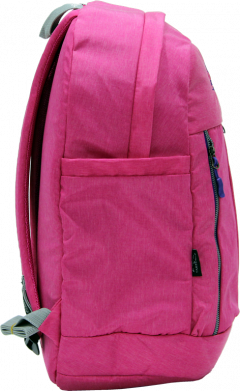 Cambridge Polo Club Plcan1669, Soft Backpack, Pink-3