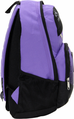 Cambridge Polo Club, Be Cool School Backpack, Purple-1