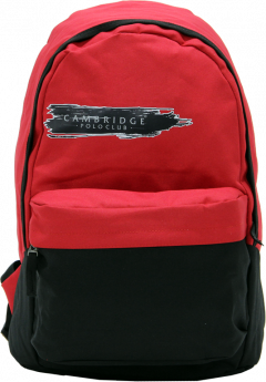 Cambridge Polo Club Plcan1658, Unisex Backpacks, Red-1