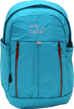 Cambridge Polo Club Plcan1669, Soft Backpack, Turquoise-1