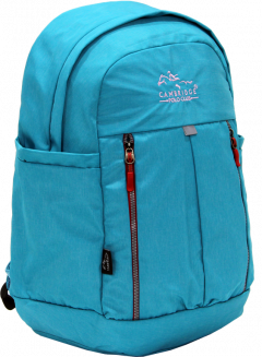 Cambridge Polo Club Plcan1669, Soft Backpack, Turquoise-2