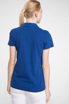 Polo Tshirt Women Blue-2