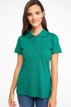 Polo Tshirt Women Green