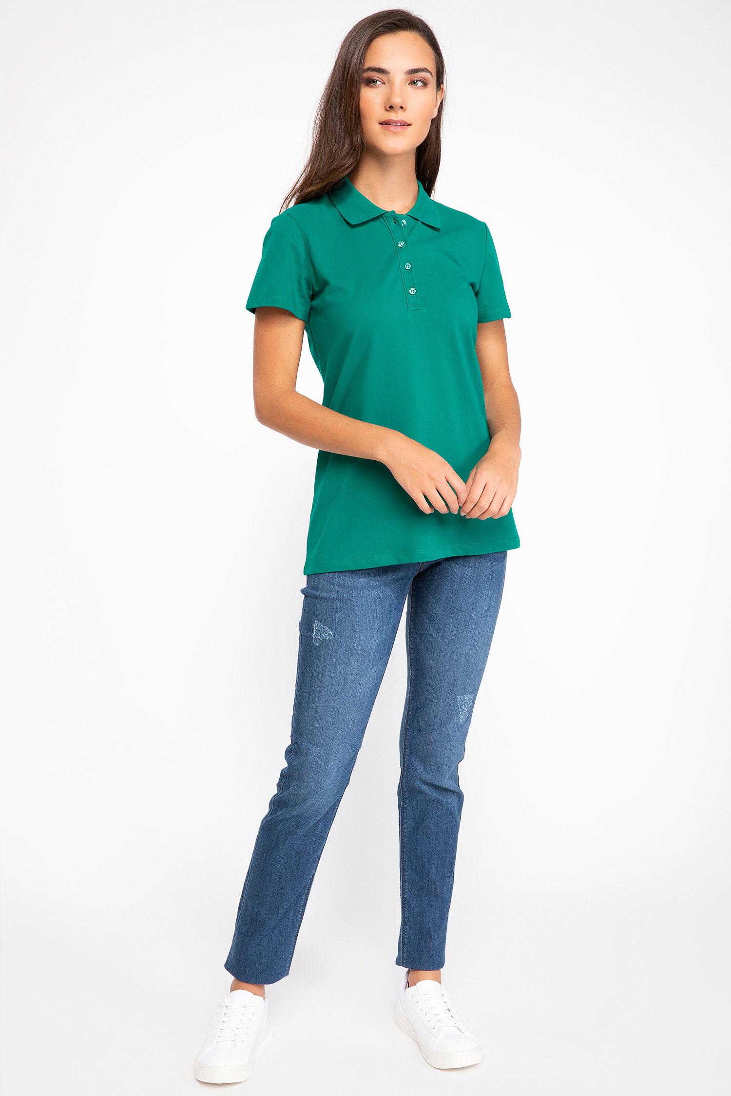Polo Tshirt Women Green