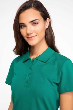 Polo Tshirt Women Green-2