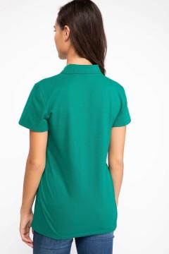 Polo Tshirt Women Green-3
