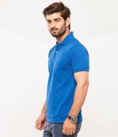 Polo Tshirt Men Blue-1