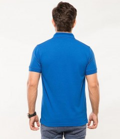 Polo Tshirt Men Blue-2