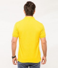 Polo Tshirt Men Yellow-2