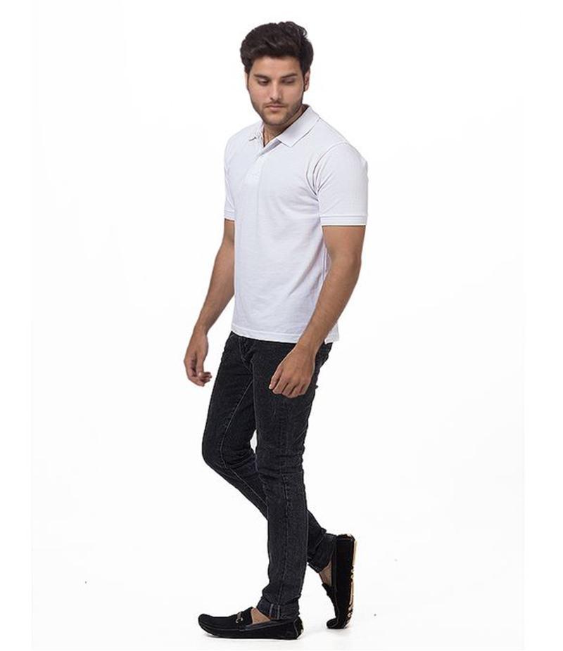 Polo Tshirt Men White