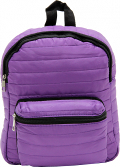 Cambridge Polo Club, Mini Parachute Backpack, Purple-0