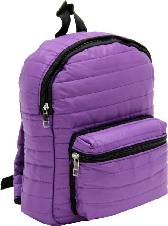 Cambridge Polo Club, Mini Parachute Backpack, Purple