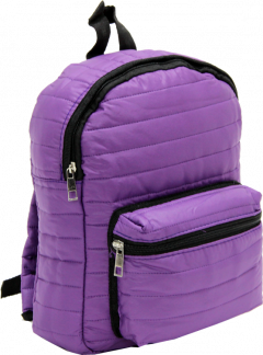 Cambridge Polo Club, Mini Parachute Backpack, Purple-1