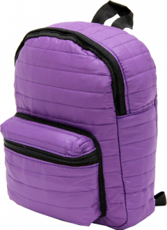 Cambridge Polo Club, Mini Parachute Backpack, Purple-2