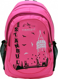 Cambridge Polo Club, Istanbul Backpack, Pink