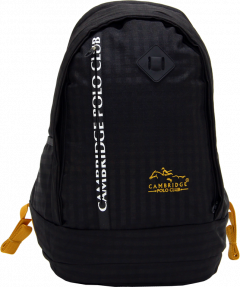 Cambridge Polo Club Plcan1715, Sport & Backpack, Black-0