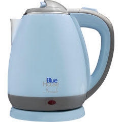 BlueHouse BH228MK Blue 1500W 1.5 Lt Steel Kettle