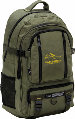 Cambridge Polo Club Pldgc90003, Mountaineer Backpack, Khaki-0