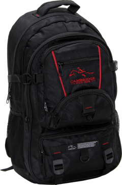 Cambridge Polo Club Pldgc90004, Mountaineer Backpack, Black-1