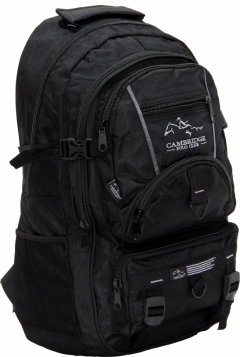 Cambridge Polo Club Pldgc90004, Mountaineer Backpack, Black-2