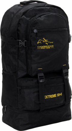 Cambridge Polo Club Pldgc90005, Mountaineer Backpack, Black-0