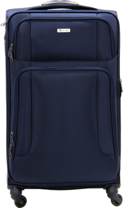 Bagtone Bt1720, Lux Fabric Large Size Travel Suitcase, Navy Blue-0