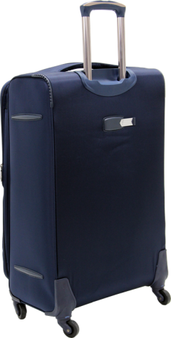 Bagtone Bt1720, Lux Fabric Large Size Travel Suitcase, Navy Blue-2