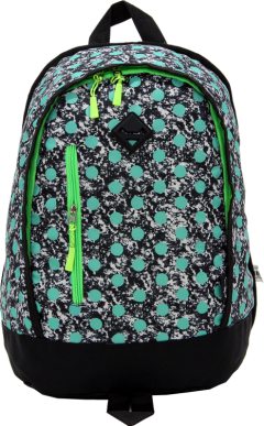 Cambridge Polo Club, Polka Dot Backpack, Water Green