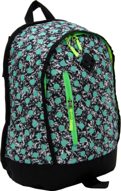 Cambridge Polo Club, Polka Dot Backpack, Water Green-1