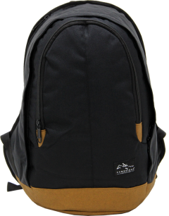 Cambridge Polo Club, Nubuck Base Backpack, Black-0