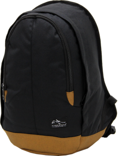Cambridge Polo Club, Nubuck Base Backpack, Black-1