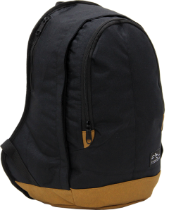 Cambridge Polo Club, Nubuck Base Backpack, Black-2