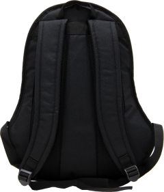 Cambridge Polo Club, Nubuck Base Backpack, Black-3