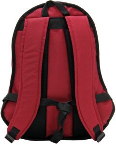 Cambridge Polo Club, Nubuck Base Backpack, Bordeaux-3